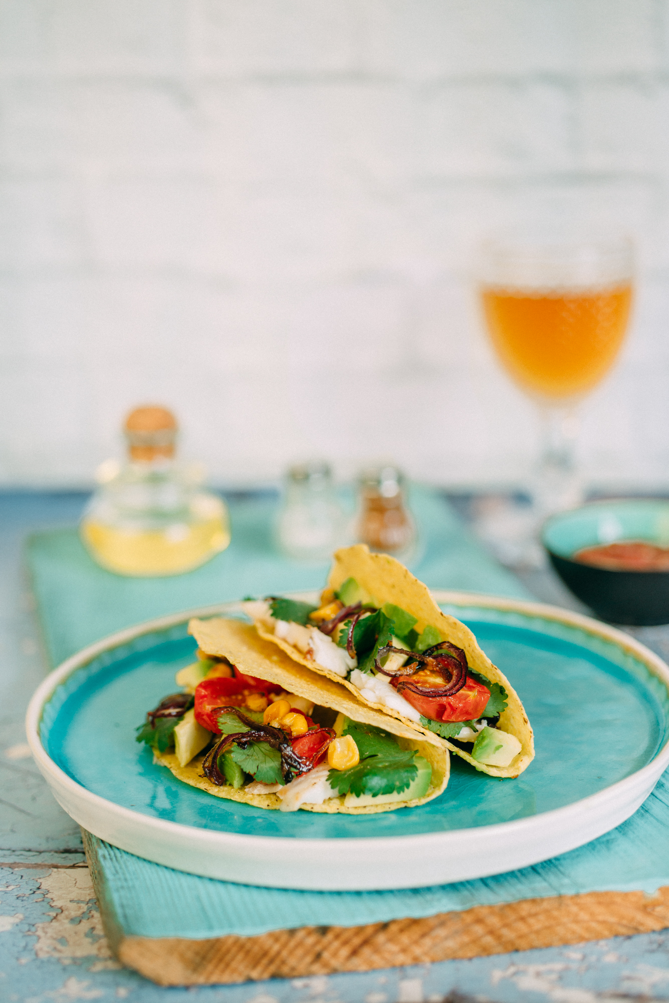 Tacos au poisson sur la planque